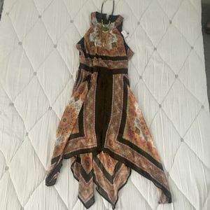 *NWT* Multi Colored Boho Dress Size 6 by New York
